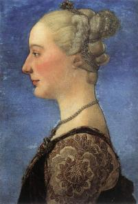 Pollaiuolo_Antonio-Portrait_of_a_Young_Woman