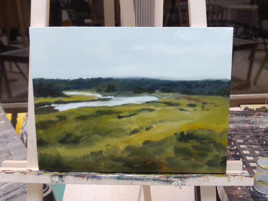 My first landscape – work inprogress